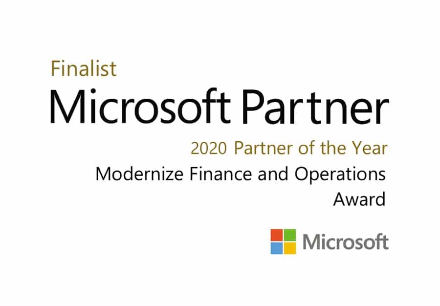 GWS erhält Auszeichung als Finalist für den MICROSOFT PARTNER OF THE YEAR AWARD 2020